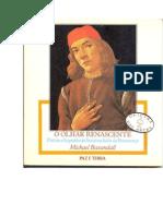 BAXANDALL, Michael. O olhar Renascente - Pintura e Experiência Social da Itália da Renascença