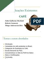 CAFÉ CERTIFICAÇÕES E SELOS