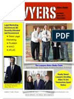 Lawyers Video Studio - New June 2011 Newsletter Now Available!