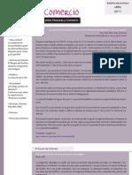 Boletín Finanzas & Comercio abril 2011