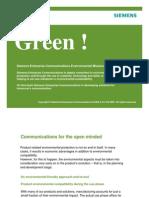 Green SEN Environmental Mission Statement
