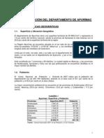 Apurimac-Caracterizacion