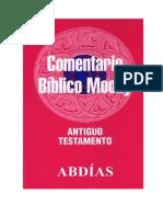 31 Comentario Bíblico Moody - ABDíAS