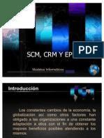 SCM, CRM Y EPR