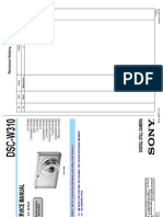 SONY DSC-W310 - VER. 1.0