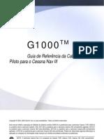 G1000 - Cessna 172 - 182 - 206 - Manual PT BR