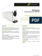 Datasheet Minipack 48800 WIR PDF