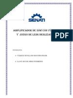 AMPLIFICADOR CON  TDA 2050 ELECTROTECNIA