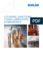 Cleaning Sanitizing Chain Lubricating in Breweries 2010 01
