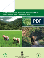Environment India and CBD October 2010