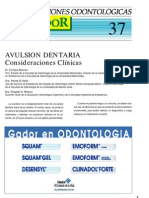 avulsion dentaria
