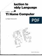 Introduction to Assembly Language for the TI Home Computer