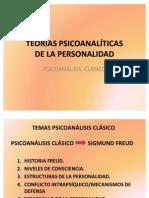 TEORÍAS PSICOANALÍTICAS