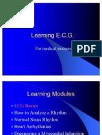 Learning ECG