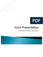 Cacti Presentation