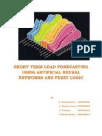 Short Term Load Forecasting Ann