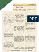 Psalm 120.7, Shalom