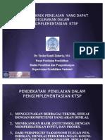 Teknik-Teknik Penilaian Dalam KTSP