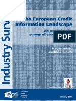 Credit Bureau - ACCIS-Survey Final Report