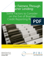 Credit Bureau - Brazil