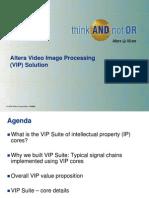 Altera Video Image Processing