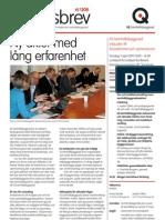 IQ Samhällsbyggnad Nyhetsbrev 1-2011