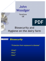 Bio Security Dairy Farm
