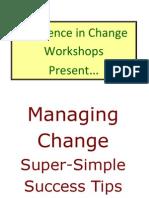 RIC Managing Change Tips Booklet