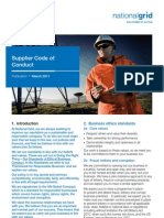 Supplier Code of Conduct Final UK 2011