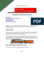Matlab, Simulink - Simulink Modeling Tutorial - Train System