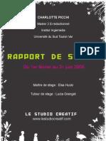 Rapport de Stage3