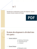 Introduction to Information Systems Development