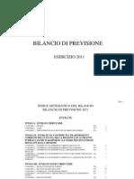Comune di Milano - Bilancio di previsione 2011