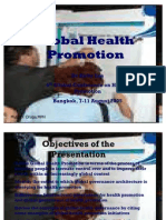 Global Health Promotion-Report