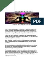 Equilibrado de Chakras - Protocolo (1)