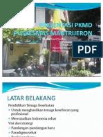 Presentasi Pkmd Puskesmas Mantrijeron