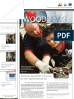Wood News Layout