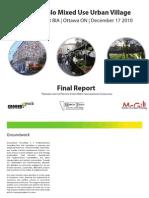 Marco Polo Urban Village Final Report 19-Dec-2010