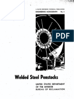 Welded Steel Penstock