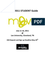 Amplify 2011 Move Student Guide