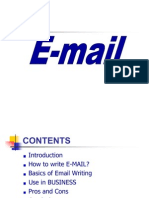 Presentation of EMAIL