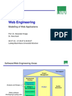 TI - Web Engineering - Modelling of Web Applications