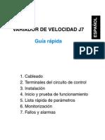guía rápida J7