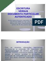 1 Escritura vs Doc Particular v8 Versao Actual