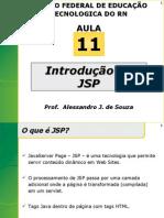 TI - INTRODUCAO AO JSP - SLIDES - CENTRO FEDERAL DE EDUCAÇÃO TECNOLOGICA DO RN