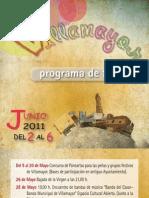 Villa Mayor Programa Fiestas 2011 Folleto