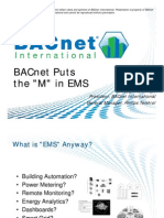 AHR Expo - BACnet Puts the M in EMS