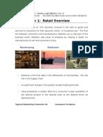 Retail Notes 1