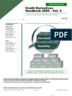 Credit Derivatives Handbook Vol. 2