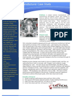 Steam Turbine Manufacturer Case Study